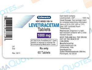 Levetiracetam Coupon