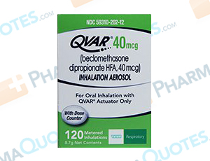 Qvar Coupon - Discounts up to 78% - Pharmaquotes